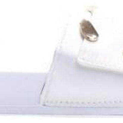 Dámské bílé pantofle Lexi 10761D