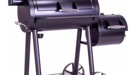 Garthen 62836 Zahradní gril s udírnou XL - 120 x 55 cm