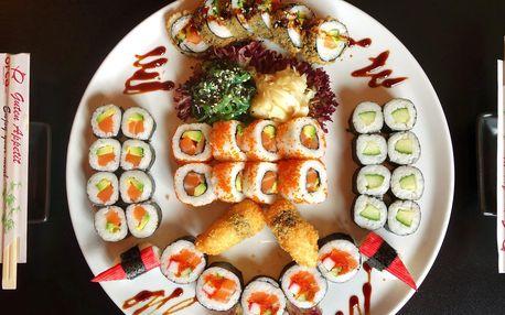 Sushi set v OC Olympia s 30 až 66 kousky