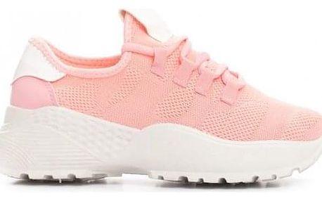 Dámské růžové tenisky Banna 025