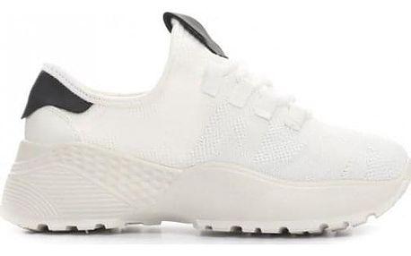 Dámské bílé tenisky Banna 025