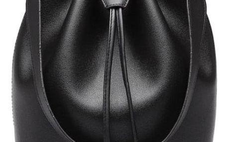 Dámská černá kabelka Lina 6894