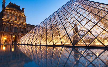 5 denní zájezd do Paříže se zastávkou v LaDefence nebo v Remeši
