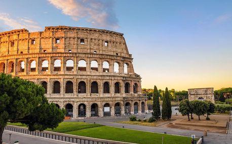 Zájezd na 5 dní do Říma a Jižní Itálie od června do podzimu s ubytováním v hotelu se snídaní