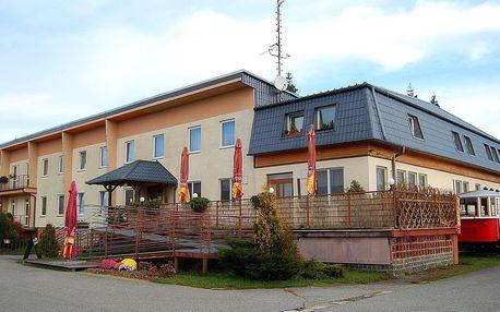 Hotel Vrchovina v Moravském krasu s polopenzí
