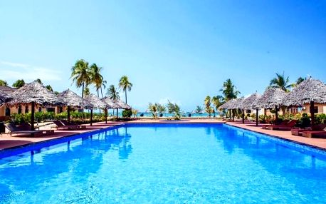 Zanzibar - The Sands Beach Resort (Dongwe) na 9 dní, polopenze s dopravou letecky z Prahy