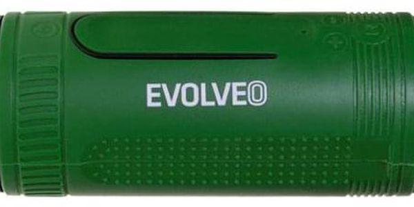 Přenosný reproduktor Evolveo Armor XL4 černé/zelené (ARM-XL4-GEE)3