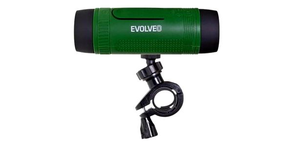 Přenosný reproduktor Evolveo Armor XL4 černé/zelené (ARM-XL4-GEE)4