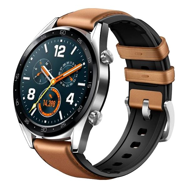 Chytré hodinky Huawei Watch GT Classic (55023257) stříbrné + DOPRAVA ZDARMA2