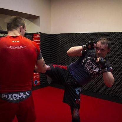 Trénink bojového umění K-1