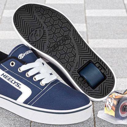 Dětské koloboty Heelys v modré barvě