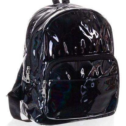 David Jones Holografický batoh lesklý větší