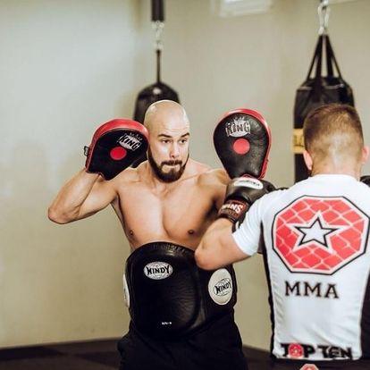 MMA trénink s XFN a Oktagon fighterem