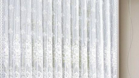 Albani Záclona Květiny, 300 x 120 cm