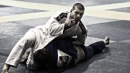 Trénink brazilského Jiu Jitsu