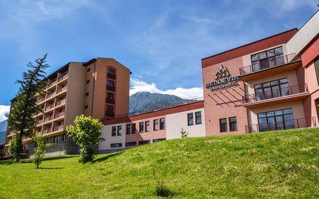 Grand Hotel Bellevue**** ve Vysokých Tatrách s wellness