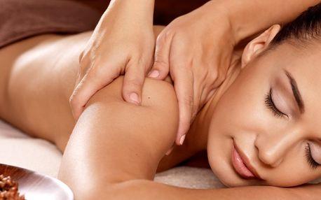 60 nebo 90minutová masáž dle výběru