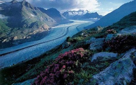 Oblast Wallis, Matterhorn a Ženevské jezero, Švýcarsko, - 8 dní, autobusem, polopenze