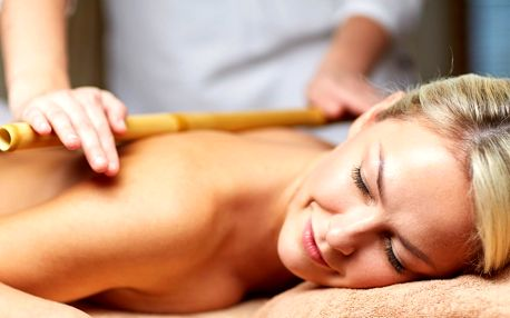 Až 60 minut relaxace: levandulová či bambusová masáž