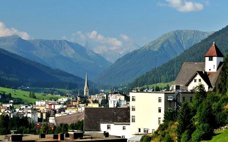 Turistika v Davosu a okolí, Švýcarsko, 5 dní, autobusem, polopenze