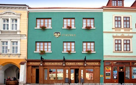 Střední Morava: Hotel/penzion ČERNÝ OREL