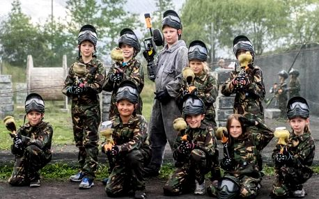 Junior Paintball pro dva