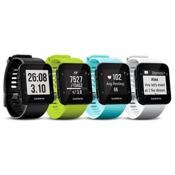 GPS hodinky Garmin Forerunner 35 bílé (010-01689-13)3