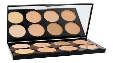 Makeup Revolution London Ultra Cover And Conceal Palette 10 g paletka korektorů pro ženy Light