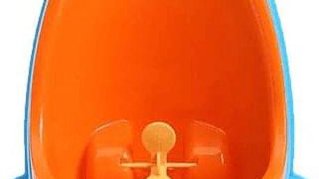 BABY YUGA Dětský pisoár žába – modro oranžový