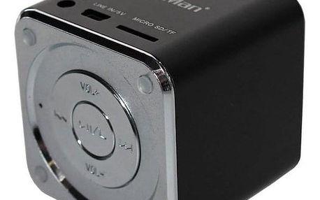 Přenosný reproduktor Technaxx Mini MusicMan černý (3527)