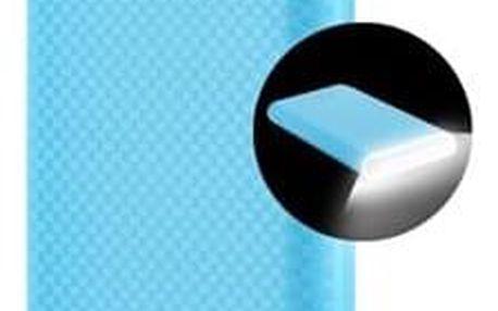 Powerbank GoGEN 8000mAh, svítilna modrá (GOGPBL80004BL)