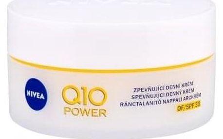Nivea Q10 Plus SPF30 50 ml protivráskový pleťový krém pro ženy