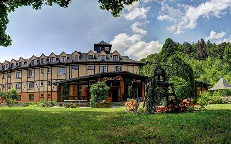 Jaro i léto s dětmi v hotelu GOLFER v Kremnici
