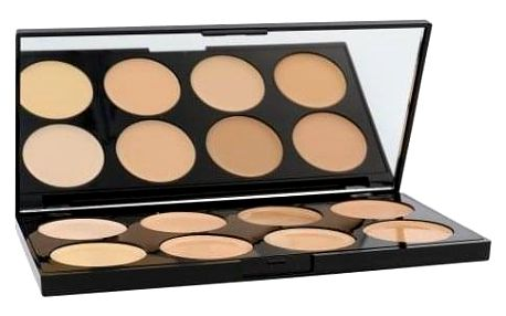 Makeup Revolution London Ultra Cover And Conceal Palette 10 g paletka korektorů pro ženy Light
