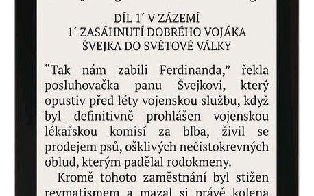 Čtečka e-knih Pocket Book 632 Touch HD - Spicy Copper (PB632-K-WW)