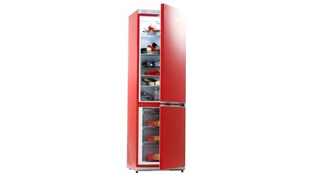 Chladnička s mrazničkou Snaige Ice Logic RF34SM S1RA21 červená