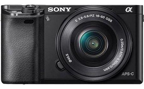 Digitální fotoaparát Sony Alpha 6000 + 16-50 OSS SEL černý