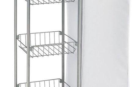 Univerzální vozík na kolečkách SLIM, kuchyňský, koupelnový, WENKO