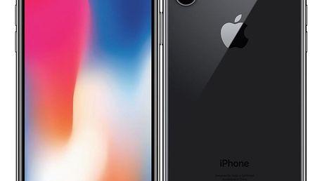 Mobilní telefon Apple iPhone X 64 GB - Space Gray (MQAC2CN/A)