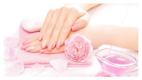 Manikúra, lakování nehtů gel lakem nebo P-Shine