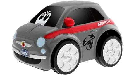 CHICCO Autíčko Turbo Touch – FIAT 500 ABARTH