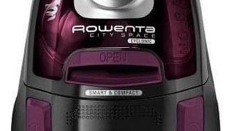 Vysavač podlahový Rowenta City Space Cyclonic RO2759EA vínový
