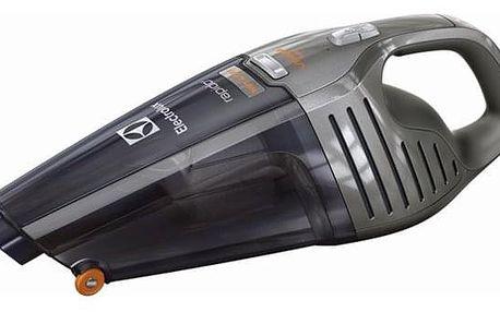 Akumulátorový vysavač Electrolux Rapido ZB6106WDT šedý