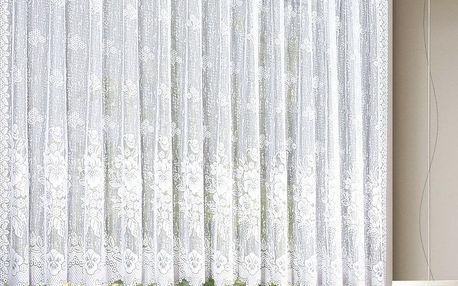 Albani Záclona Květiny, 300 x 100 cm