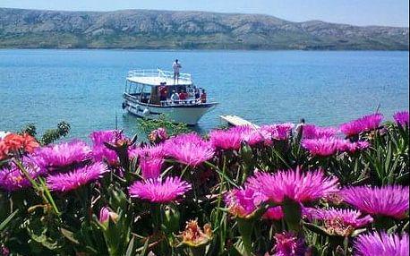 Dovolená v Chorvatsku na ostrově Pag v přímořském městečku Metajna s polopenzí