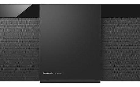 Mikrosystém Panasonic SC-HC300EG-K černý + dárek