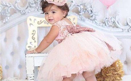 Dětské šaty s tutu sukní