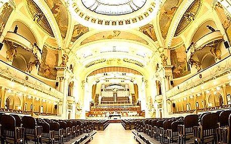 Vstupenka pro 1 osobu na exkluzivní koncert v srdci Prahy - nechte se ve Smetanově síni.