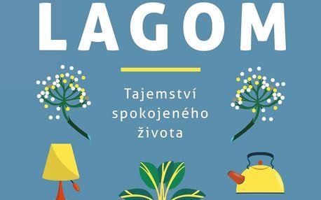 Lagom: tajemství spokojeného života- Niki Brantmarková, modrá barva, papír