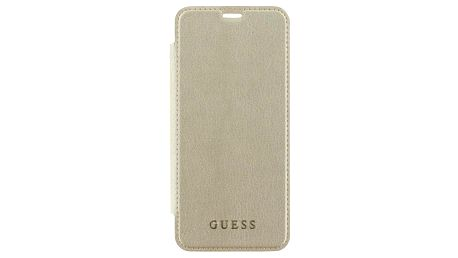 Guess Iridescent Book Case pro Samsung Galaxy S9 Plus zlaté (GUFLBKS9LIGLTGO)
